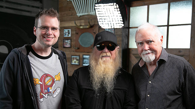 Dusty Hill ZZ top, Mike McGuff, Pat Fant
