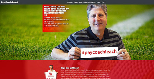 Pay Coach Leach